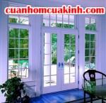Cửa sổ nhôm kính vẻ đẹp nội thất hiện đại