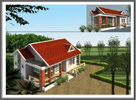 5 mẫu thiết kế nhà cấp 4 đẹp, đơn giản và hiện đại