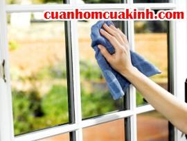 5 mẹo đơn giản làm sạch cửa kính