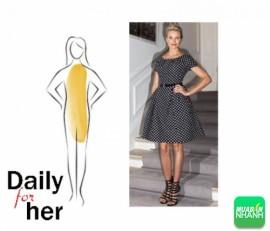 Chọn váy đầm đẹp phù hợp với vóc dáng