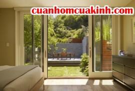 Sử dụng cửa nhôm kính trong thiết kế nội ngoại thất