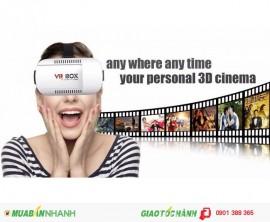 Trải nghiệm cảm giác xem phim tại rạp cùng kính 3D VR box ngay trên chiếc điện thoại của bạn