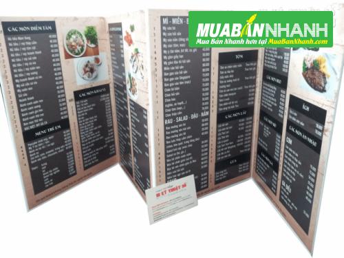 Bảng báo giá In thực đơn/menu, 48, Minh Thiện, Cửa Nhom Cửa Kính, 20/08/2015 13:25:29